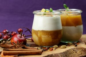 Yoghurt-Quince-Mousse-Quince-Compote-4