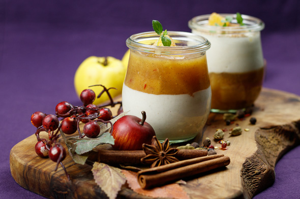 Yoghurt-Quince-Mousse-Quince-Compote-5
