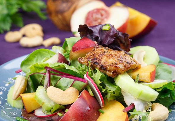Cajun-Chicken-Nectarine-Salad-2