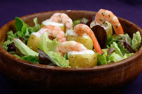 Lemon-Confit-Potatoes-Herby-Prawns-Garlic-Wasabi-Mayo-7
