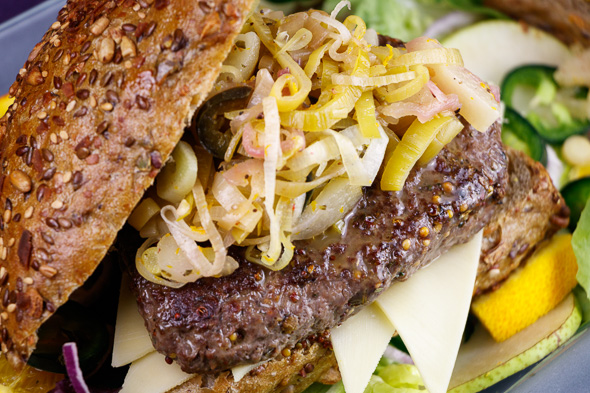 Wild-Boar-Burgers-Leeky-Pear-Jalapeño-Chutney-3